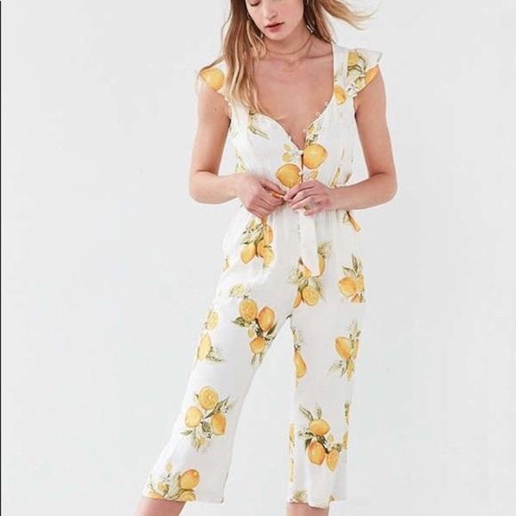 For Love And Lemons Pants Bnwt Limonada Jumpsuit Poshmark